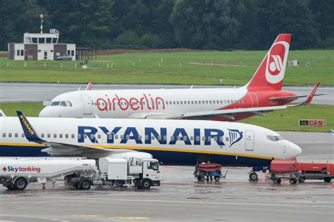 bid up ryanair out air berlin bid denouncing process as