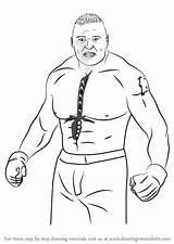 Brock Lesnar Draw Wwe Drawings Wrestlers Coloring Drawing Pages Step Wrestling Wrestlemania Learn Japan Pro Paintingvalley Bo Peep Club sketch template
