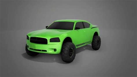 2010 Dodge Charger Turntable (off-road Edition)