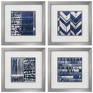 indigo batik framed graphic art set reviews allmodern With best brand of paint for kitchen cabinets with rocket ship wall art