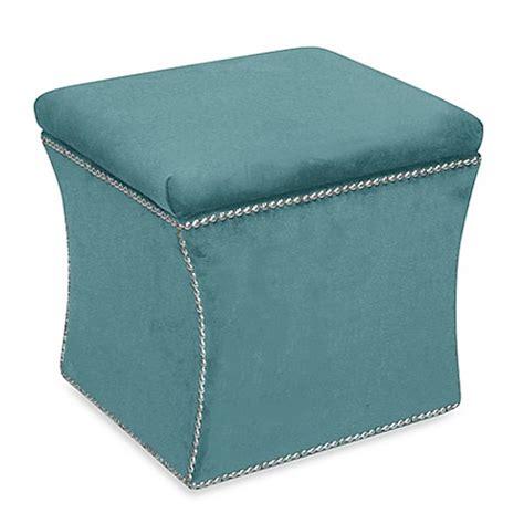skyline furniture storage ottoman skyline furniture nail button storage ottoman bed bath
