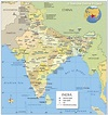 Map of India - Nations Online Project