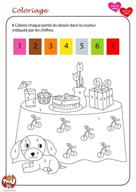 dessins de coloriage numerote  imprimer