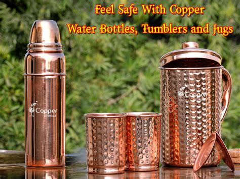 correct time  drink water  benefit  health copper utensils