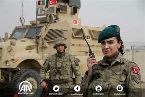 turkish soldiers savasci kadin