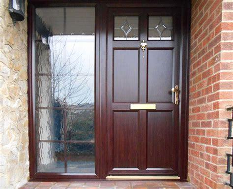 Rosewood Door & A Lovely Rosewood Coloured Composite Door