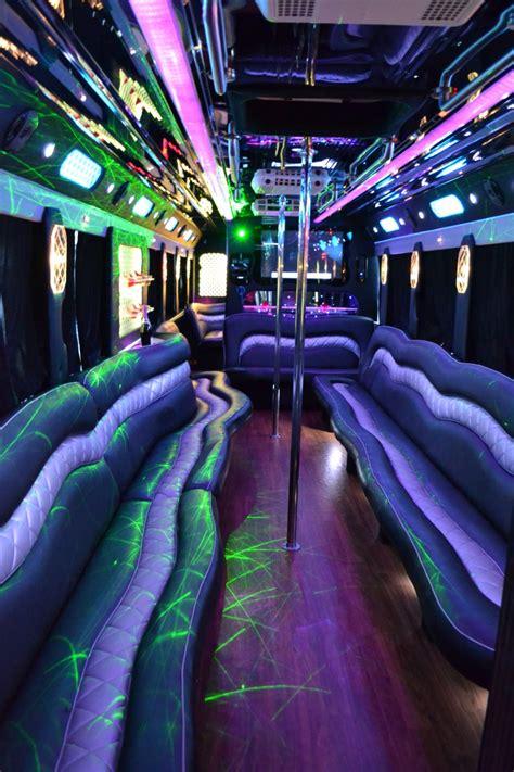 passenger party bus rentals   jersey blue