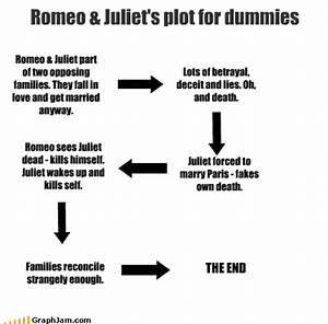 Romeo  U0026 Juliet U0026 39 S Plot For Dummies - Graphjam