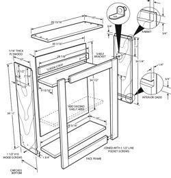 kitchen cabinet plans  building kitchen cabinets