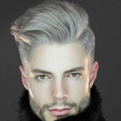 guide  silvergrey hair  men