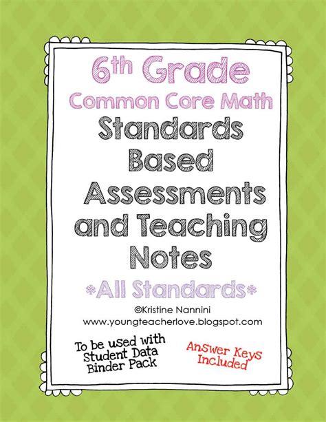 Common Core Math Pre Assessment 6th Grade  5th Grade Common Core Math Pre Assessment 6th