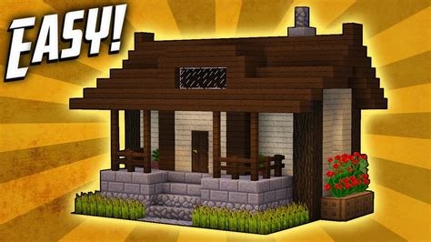 minecraft houses minecraft how to build a small survival house tutorial