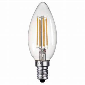 Led Light Bulbs : dar lighting e14 4w led 400 lumen dimmable candle lamp light bulbs and accessories from dusk ~ Yasmunasinghe.com Haus und Dekorationen