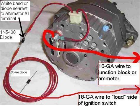 gm single wire alternator wiring mg engine swaps mg experience the mg experience