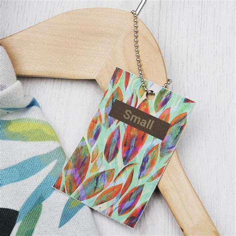 Leather Swing Tags UK: Custom Swing Tags for Crafts, Fashion