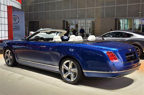 bentley grand convertible concept specifications