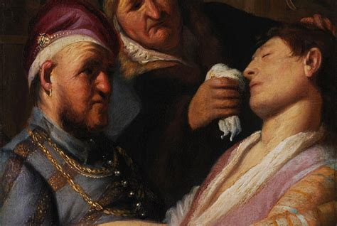 Early Rembrandt Found In Basement Goes On Display Smart
