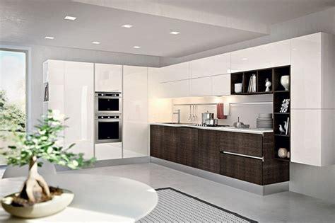 belles cuisines contemporaines cuisine minimaliste avec une conception écologique