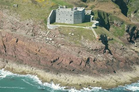 Perched On The Cliff Edge Overlooking The Sea by 19 Cool Lets In Wales From A Hovering House To A