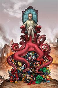 Stan Lee's OctoThrone for Comikaze by camilladerrico on ...