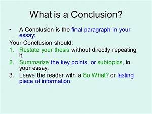 What makes a good thesis conclusion | How to Write a Good ...