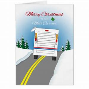 mail carrier cards greeting photo cards zazzle With letter carrier christmas cards