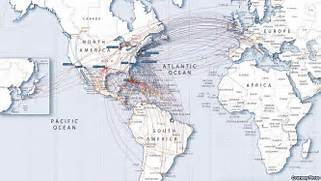 Airways Route Map International Routes US Airways To Connect - Us airways destinations map