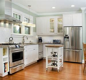kitchen ideas for small kitchens with white cabinets With cabinets for a small kitchen