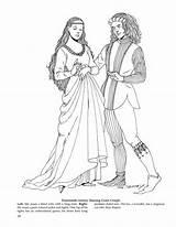 Coloring Medieval Adult sketch template