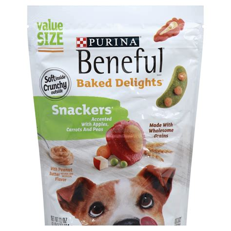 Shop for buddy biscuit dog treats in dog treats by brand. Dog training treats baked delights snackers Beneful 22 oz. pouch delivery | Cornershop