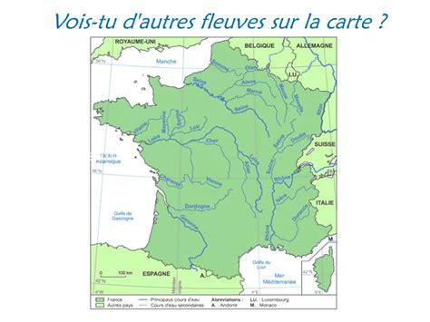 Carte Fleuve Rhin by Fleuves De Rhin