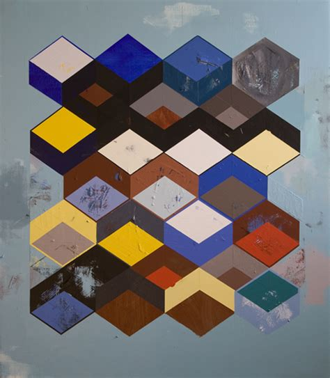 reconfigured grid paintings  fine artist jeff depner