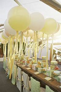 Wedding bridal shower tea party or birthday party for Wedding shower balloons