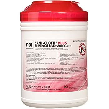 Amazon.com: PDI Sani-cloth HB Germicidal Disposable Wipes