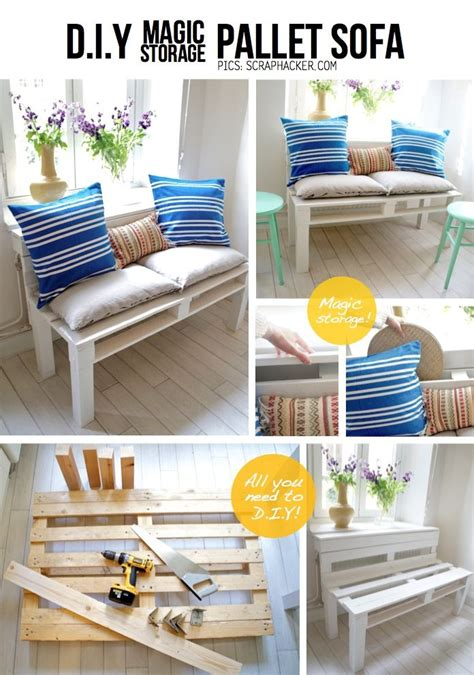 easy diy furniture ideas image 40 creative pallet furniture diy ideas and projects