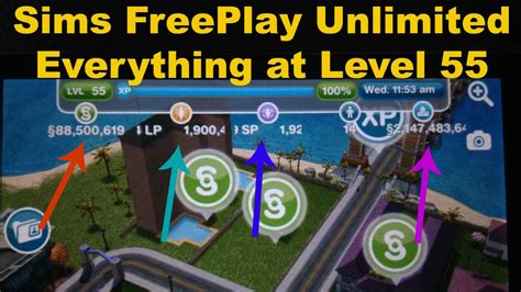 sims freeplay cheats iphone how to get unlimited sp lp and simoleons on sims freeplay