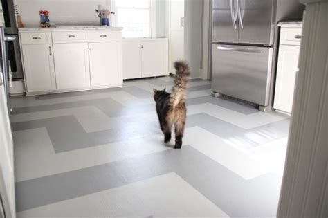 The Kitchen Springfield by Painted Kitchen Vinyl Floor Eclectic Kitchen