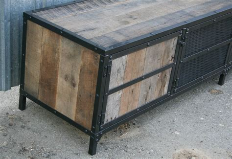 reclaimed barn combine 9 industrial furniture industrial rustic credenza