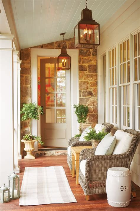 How To Decorate A Screened Porch by 15 Ways To Arrange Your Porch How To Decorate