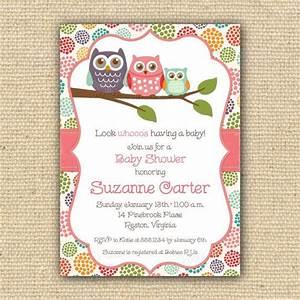 baby owl baby shower invitations theruntimecom With owl themed baby shower invitation template
