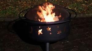 Feuerkorb Mit Funkenschutz : landmann feuerstelle feuerkorb 11771 mit grillrost und funkenschutz youtube ~ Watch28wear.com Haus und Dekorationen