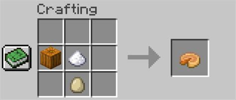 Pumpkin pies are a food item that can be made with a pumpkin, 1 sugar and 1 egg. How To Carve Pumpkin In Minecraft & Pumpkin Pie Recipe