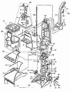 Hoover Fh50020 Parts List And Diagram   Ereplacementparts Com