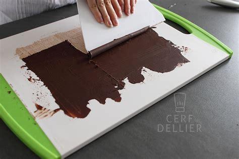 astuce pour decorer un gateau les d 233 corations en chocolat cerfdellier le