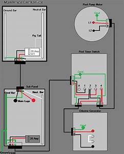 Electrical Wiring Diagram Example Swimming Pool