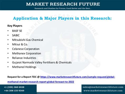 Global methanol market research report global forecast to 2022