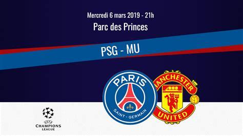 Match : PSG/Manchester United, diffusion, commentateurs et ...