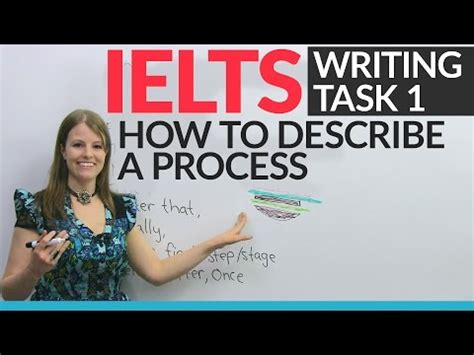 Ielts Writing Task 1 How To Describe A Process Voicetube