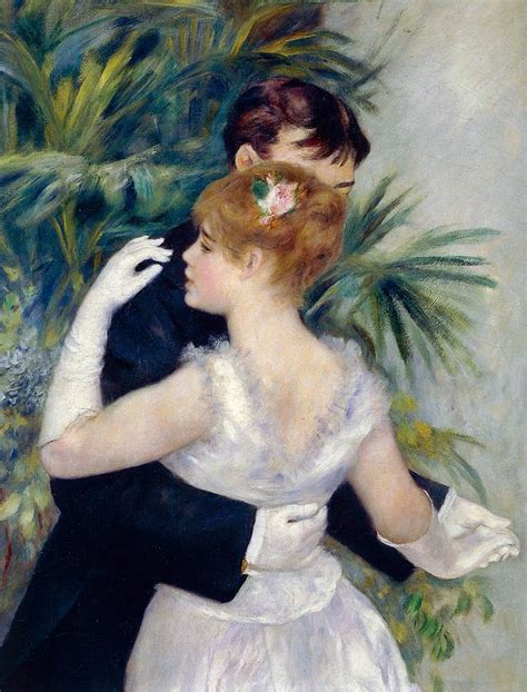 Dance In The City Painting By Pierre Auguste Renoir