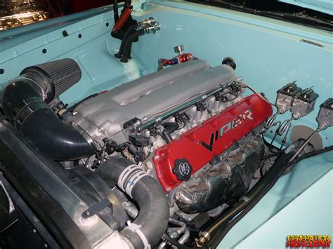 1959 Plymouth Belvedere Wdodge Viper V10 Engine Swap Genho